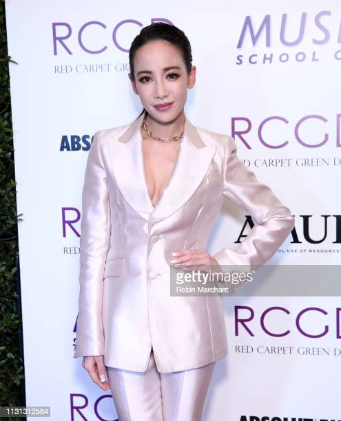 Fiona Xie attends Suzy Amis Cameron's 10Year Anniversary Of RCGD Celebration on February 21 2019 in Beverly Hills California