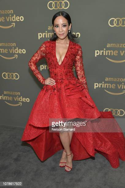 Fiona Xie attends the Amazon Prime Video's Golden Globe Awards After Party at The Beverly Hilton Hotel on January 6 2019 in Beverly Hills California