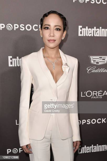 Fiona Xie attends the Entertainment Weekly PreSAG Party Arrivals at Chateau Marmont on January 26 2019 in Los Angeles California