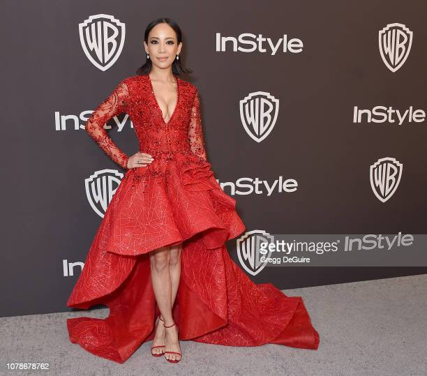 Fiona Xie attends the InStyle And Warner Bros Golden Globes After Party 2019 at The Beverly Hilton Hotel on January 6 2019 in Beverly Hills California