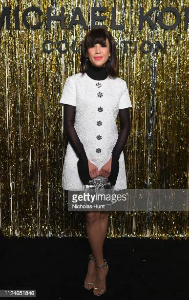 Fiona Xie attends the Michael Kors Collection Fall 2019 Runway Show at Cipriani Wall Street on February 13 2019 in New York City
