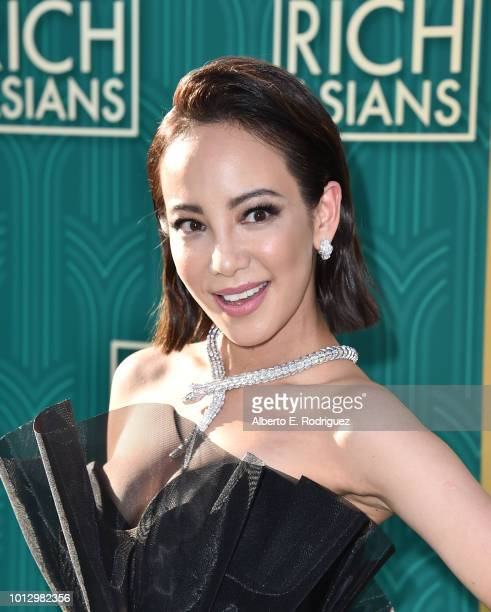 """Fiona Xie attends the premiere of Warner Bros. Pictures' """"Crazy Rich Asiaans"""" at TCL Chinese Theatre IMAX on August 7, 2018 in Hollywood, California."""