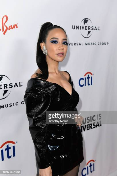 Fiona Xie attends Universal Music Group's 2019 After Party Presented by Citi Celebrates The 61st Annual Grammy Awards on February 9 2019 in Los...
