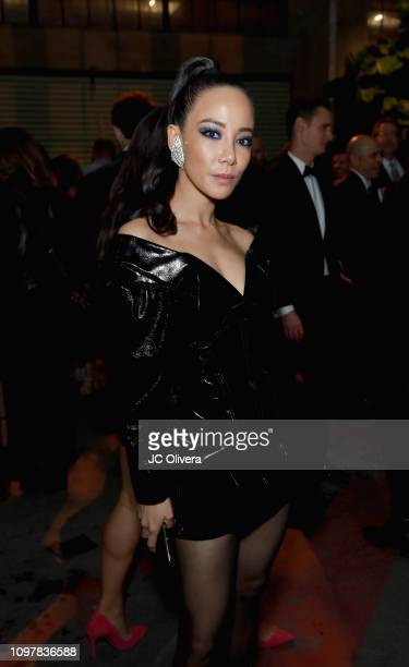 Fiona Xie attends Universal Music Group's 2019 After Party Presented by Citi Celebrates Music's Biggest Night on February 9 2019 in Los Angeles...