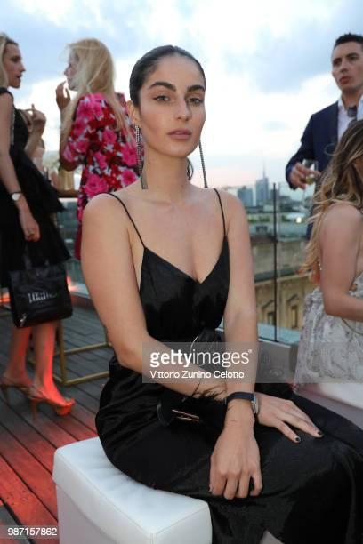 Fiona Zanetti attends OMEGA Tresor Event on June 27 2018 in Milan Italy