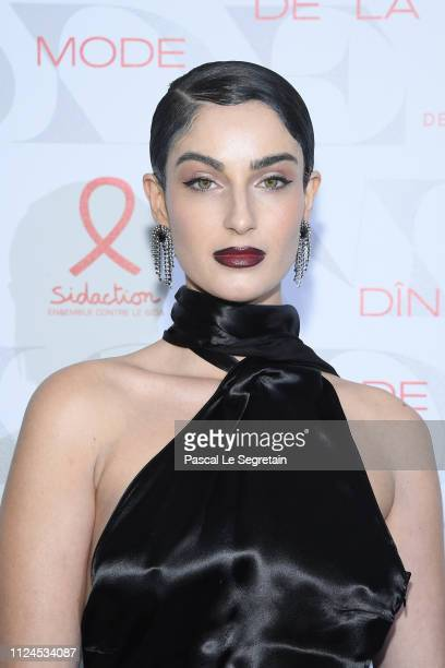 Fiona Zanetti attends the 17th Diner De La Mode as part of Paris Fashion Week on January 22 2019 in Paris France
