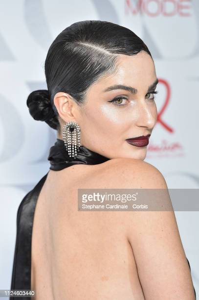 Fiona Zanetti attends the 17th Diner De La Mode as part of Paris Fashion Week on January 24 2019 in Paris France