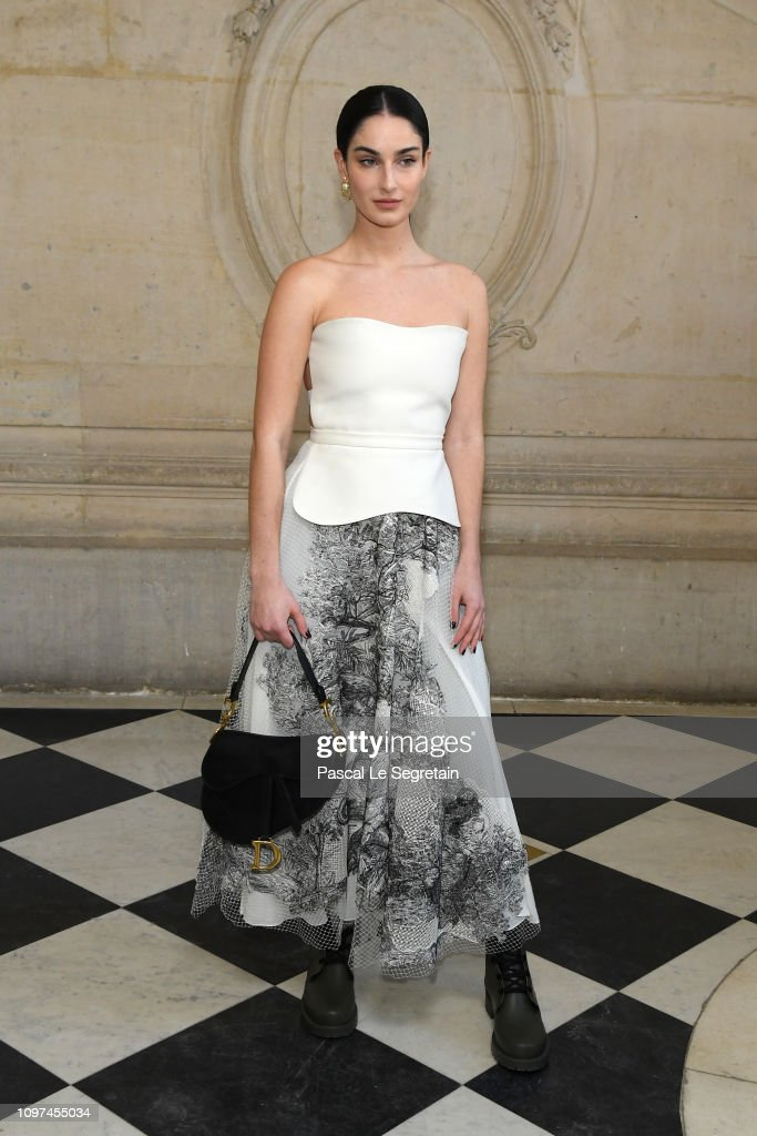 Christian Dior : Photocall - Paris Fashion Week - Haute Couture Spring Summer 2019 : News Photo