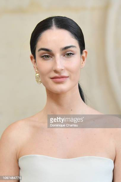 Fiona Zanetti attends the Christian Dior Haute Couture Spring Summer 2019 show as part of Paris Fashion Week on January 21 2019 in Paris France
