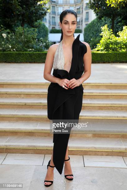 Fiona Zanetti attends the David Yurman Cocktail as part of Paris Fashion Week on July 01 2019 in Paris France