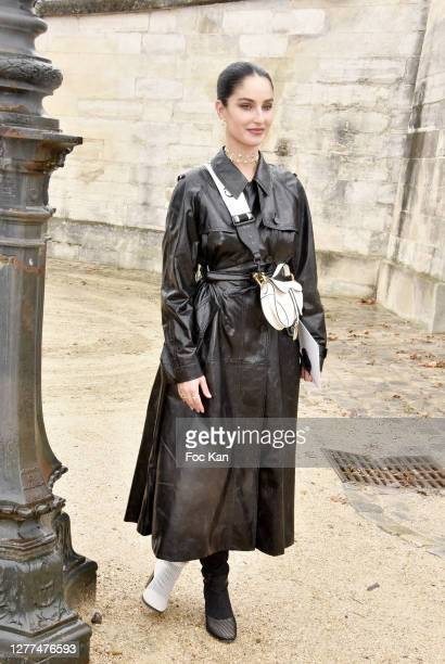 Fiona Zanetti attends the Dior Womenswear Spring/Summer 2021show as part of Paris Fashion Week on September 29, 2020 in Paris, France.