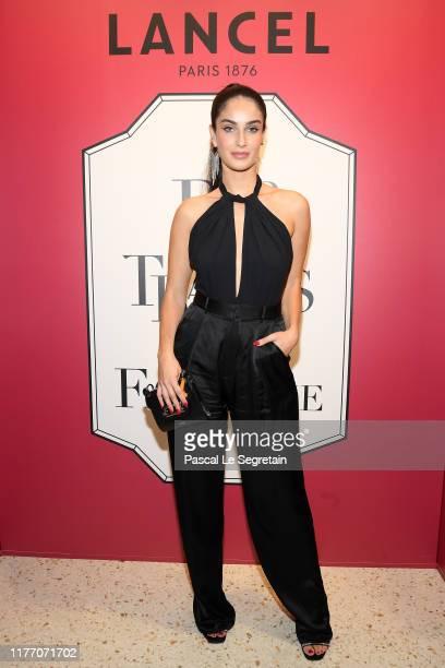 Fiona Zanetti attends the Lancel 'Portraits De Fantaisie cocktail event during Paris Fashion Week Womenswear Spring Summer 2020 on September 25 2019...