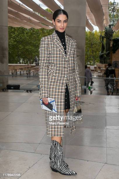 Fiona Zanetti attends the Paco Rabanne Womenswear Spring/Summer 2020 show as part of Paris Fashion Week on September 26 2019 in Paris France