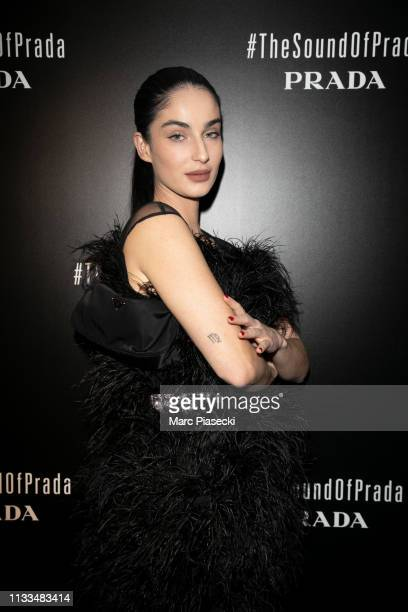 Fiona Zanetti attends the Prada Party as part of the Paris Fashion Week Womenswear Fall/Winter 2019/2020 on March 03 2019 in Paris France