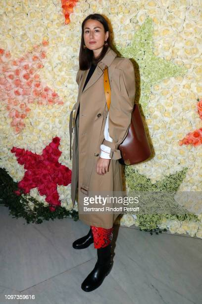 Fiona Zanetti attends the Schiaparelli Haute Couture Spring Summer 2019 show as part of Paris Fashion Week on January 21 2019 in Paris France