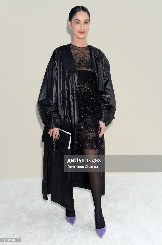 Valentino : Front Row - Paris Fashion Week Womenswear Fall/Winter 2019/2020 : News Photo