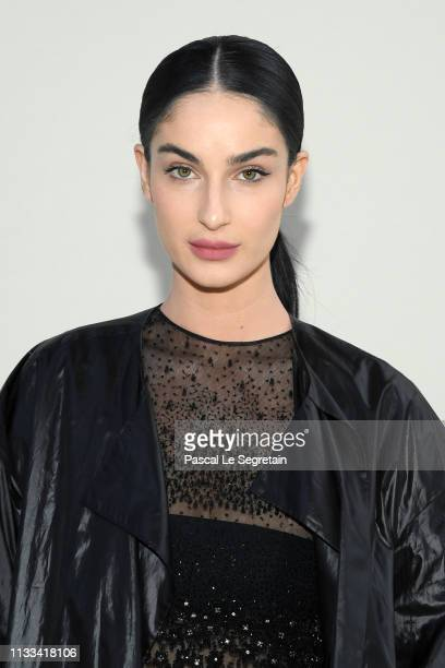 Fiona Zanetti attends the Valentino show as part of the Paris Fashion Week Womenswear Fall/Winter 2019/2020 on March 03 2019 in Paris France
