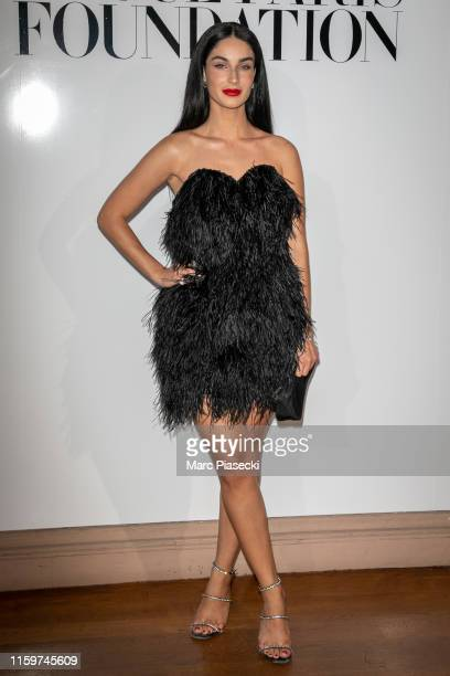 Fiona Zanetti attends the Vogue diner as part of Paris Fashion Week Haute Couture Fall Winter 2020 at Le Trianon on July 02 2019 in Paris France