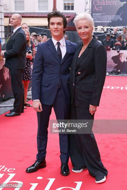Fionn Whitehead attends the UK Premiere of 'The Children Act' at The Curzon Mayfair on August 16 2018 in London England