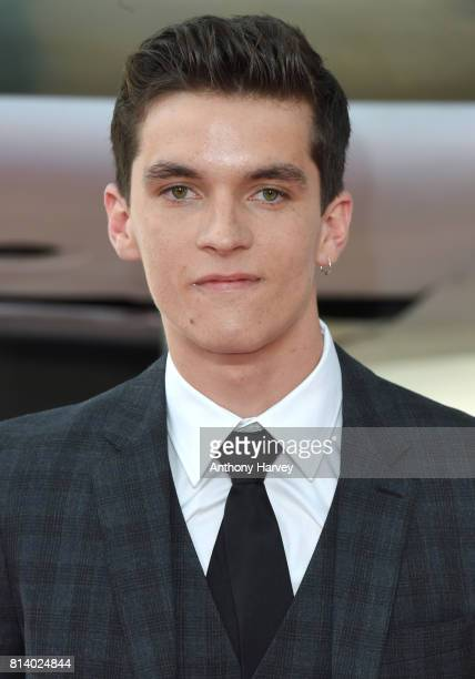 Fionn Whitehead attends the 'Dunkirk' World Premiere at Odeon Leicester Square on July 13 2017 in London England