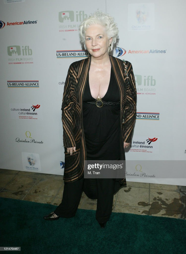 Fionnula Flanagan during US-Ireland Alliance Honor Van Morrison at 2007 Pre-Oscar Gala at The Ebell Club of Los Angeles in Los Angeles, California, United States.