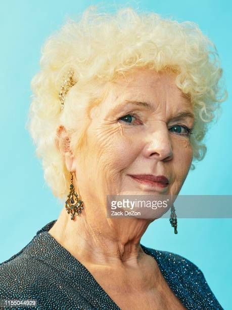 Fionnula Flanagan of The Ferryman poses for a portrait during the 73rd Annual Tony Awards on June 09 2019 in New York City