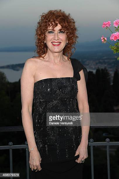 Fiorella Mannoia attends a cocktail party ahead of Nastri D'Argento on July 2 2016 in Taormina Italy