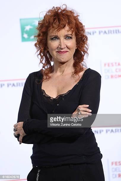 Fiorella Mannoia attends a photocall for '7 Minuti' during the 11th Rome Film Festival at Auditorium Parco Della Musica on October 21 2016 in Rome...