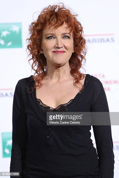 Fiorella Mannoia attends a photocall for '7 Minuti' during the 11th Rome Film Festival at Auditorium Parco Della Musica on October 21 2016 in Rome...
