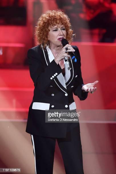Fiorella Mannoia attends the 20 anni che siamo italiani tv show on November 27 2019 in Milan Italy