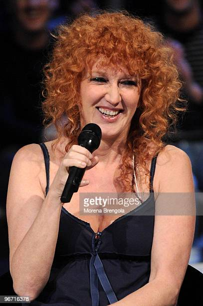 Fiorella Mannoia during Scalo 76 tv show on December 01 2008 in Milan Italy