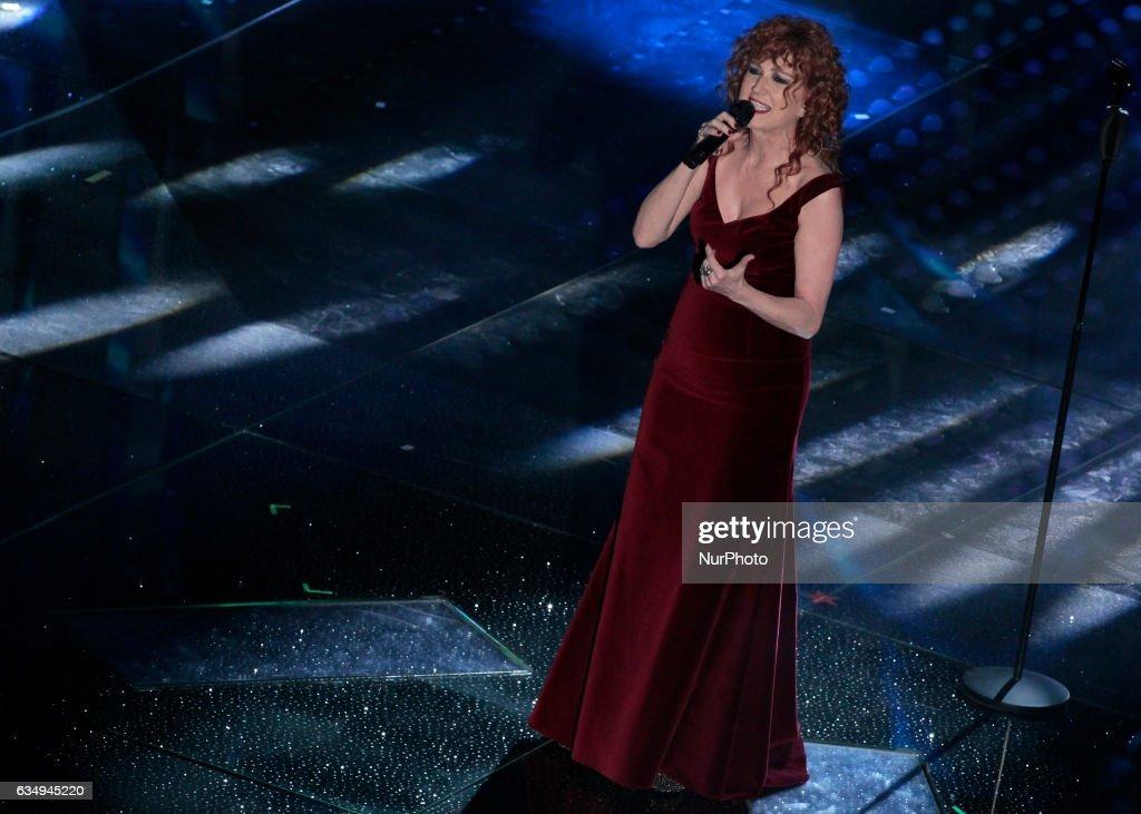 Sanremo 2017 - Day 5 - Closing Night : News Photo