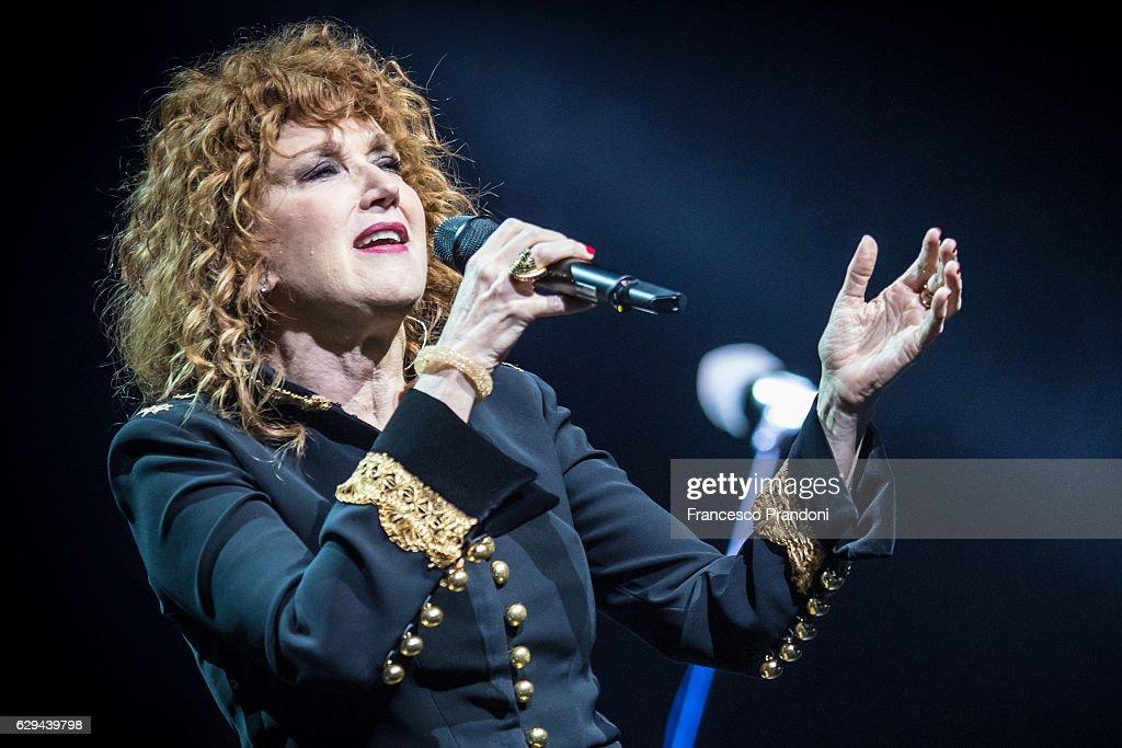 Fiorella Mannoia Performs In Milan