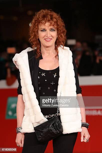 Fiorella Mannoia walks a red carpet for '7 Minuti' during the 11th Rome Film Festival at Auditorium Parco Della Musica on October 21 2016 in Rome...