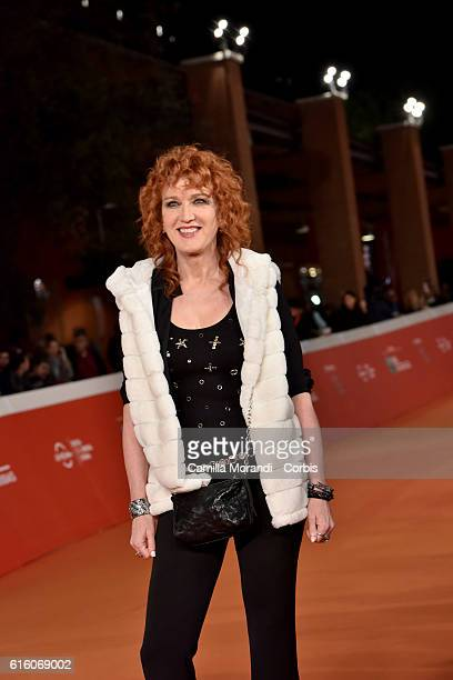 Fiorella Mannoia walks a red carpet for '7 Minuti' during the 11th Rome Film Festival on October 21 2016 in Rome Italy