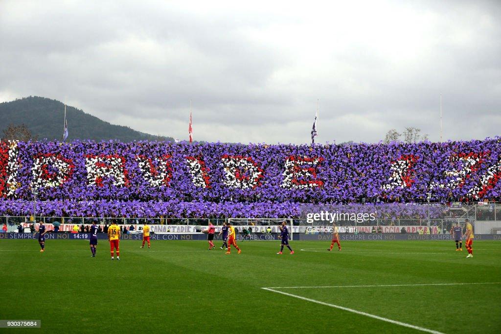 ACF Fiorentina v Benevento Calcio - Serie A : News Photo