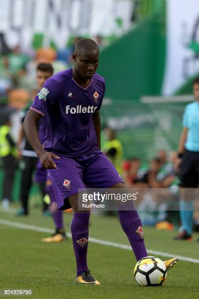 Fiorentina forward Khouma Babacar from Senegal in action during the Trophy Five Violins 2017 final football match Sporting CP vs ACF Fiorentina at...