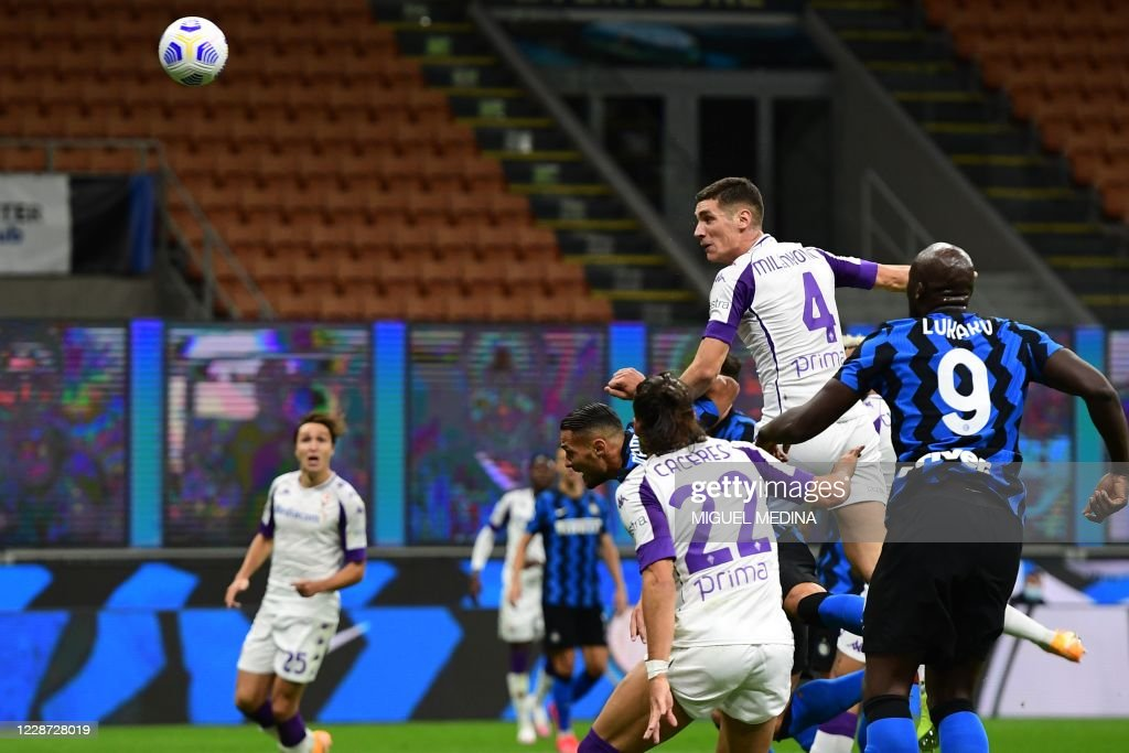 FBL-ITA-SERIEA-INTER-FIORENTINA : News Photo