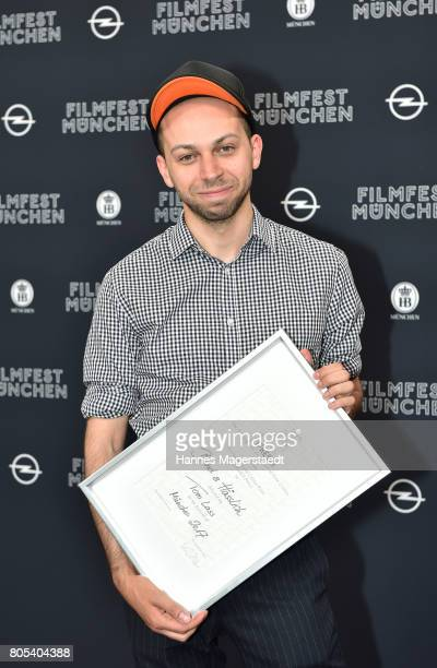 Preis winner Tom Lass at the premiere of 'Ihre Beste Stunde' as closing movie of Munich Film Festival 2017 at Gasteig on July 1 2017 in Munich Germany