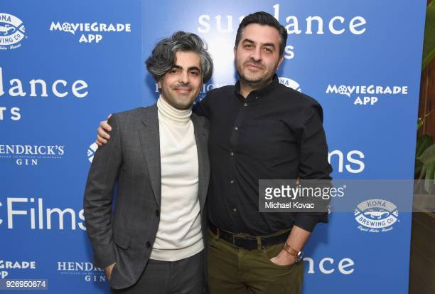 Firas Fayyad and Grasshopper Film Founder Ryan Krivoshey attend the IFC Films Independent Spirit Awards After Party presented by MovieGrade App...