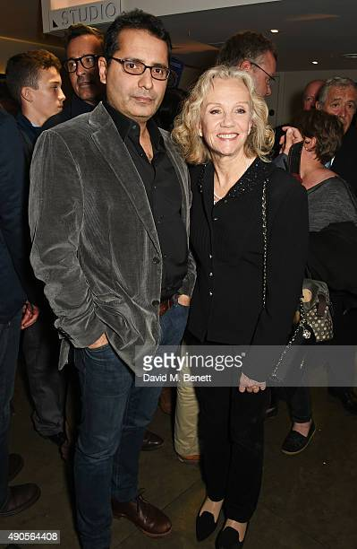 Firdous Bamji and Hayley Mills attend the press night of Pure Imagination The Songs of Leslie Bricusse at the St James Theatre on September 29 2015...