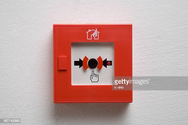Alarme incendie boîte