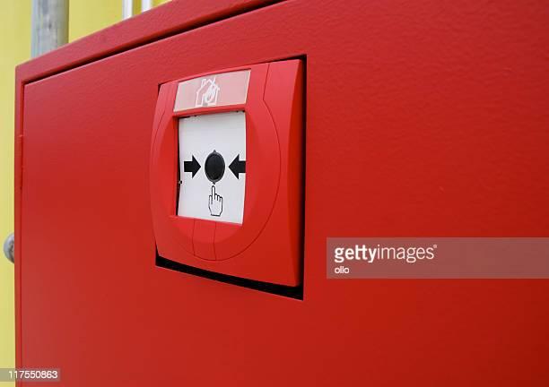 Feueralarm mit Knopf