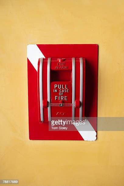 fire alarm - sibley stock photos and pictures