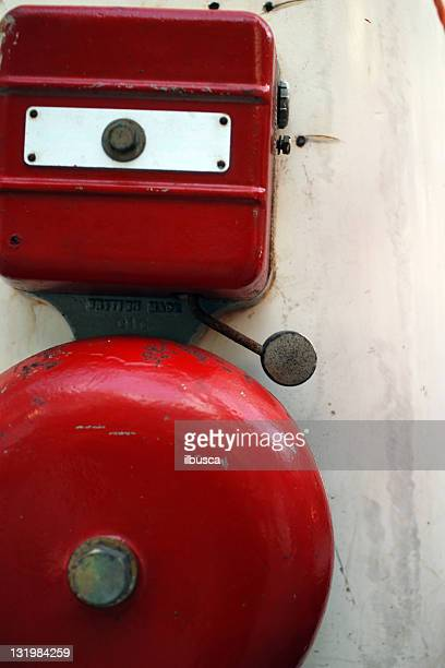 Fire alarm red bell