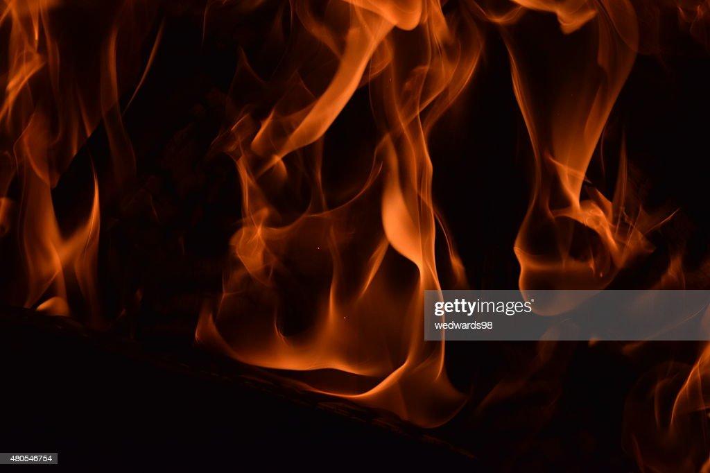 Feuer und Flamme : Stock-Foto