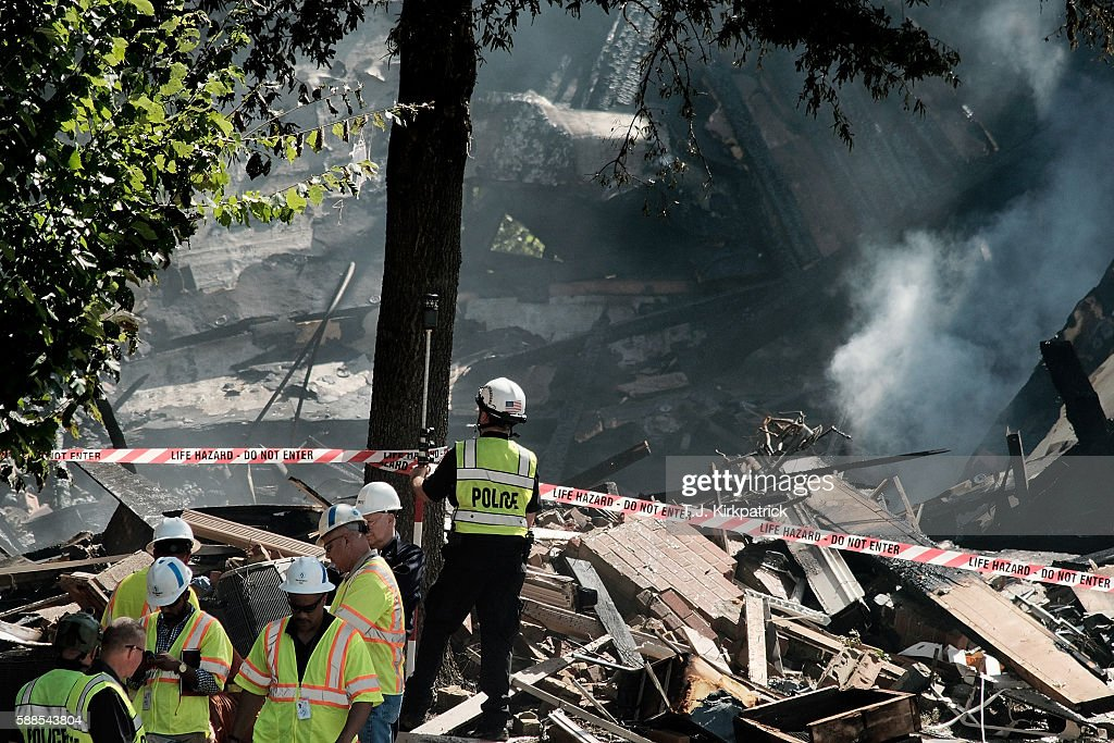 Natural gas explosion and fire levels apartments in dc suburb fire and rescue crews and investigators are seen at the site of an overnight explosion and mightylinksfo