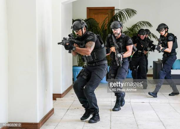"""Fire and Smoke"""" -- The SWAT team is enlisted by Hondo's new romantic interest, Deputy District Attorney Nia Wells , to protect the jurors of a..."""