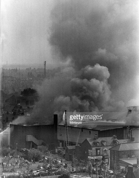 Fire at Gaskins and Plus One nightclub complex in Linthorpe Road Middlesbrough Monday 8th August 1983