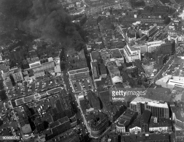 Fire at Henderson's Department Store Liverpool 22nd June 1960